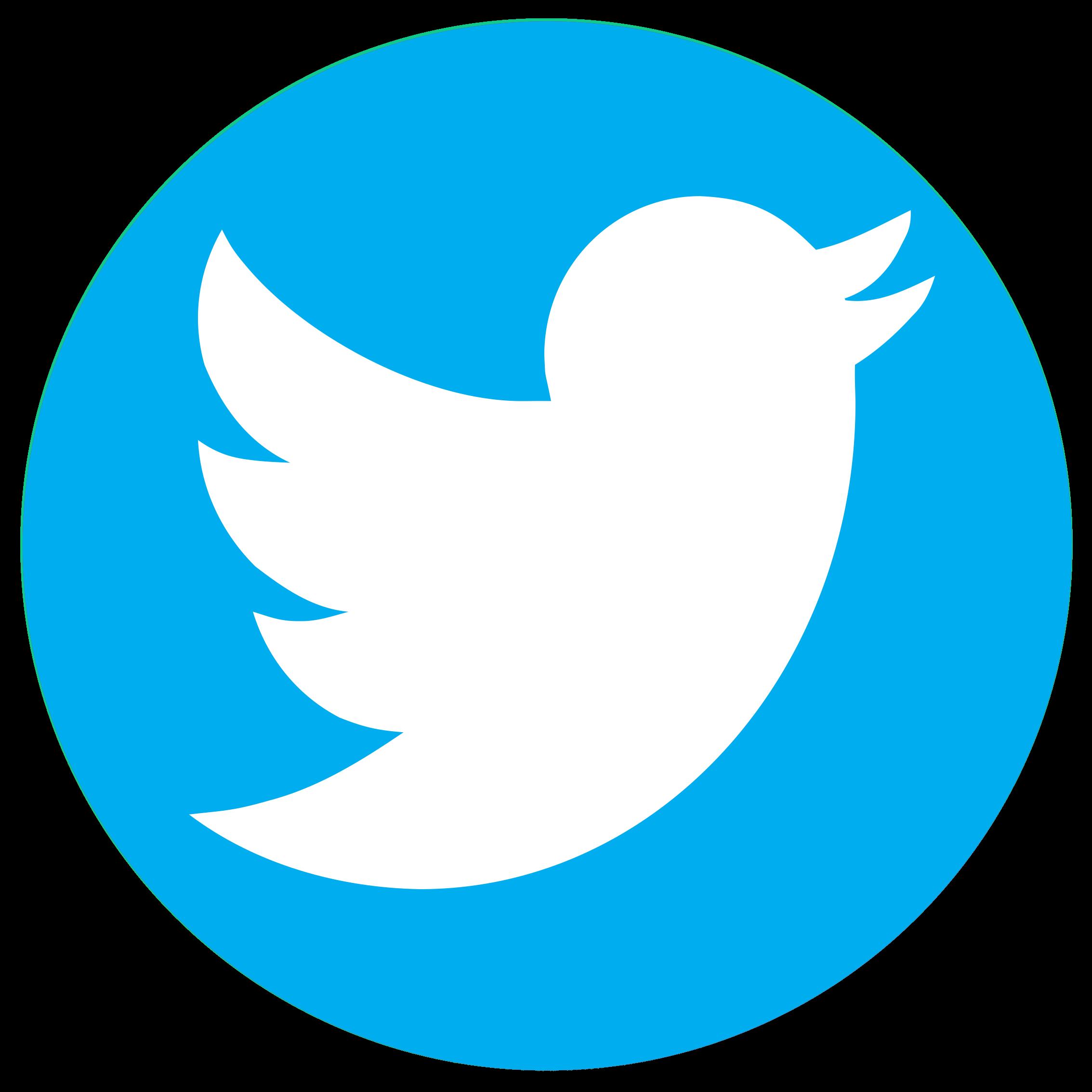 Twitter logo rond 2 | Aapjeskooi